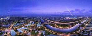 上海大虹桥商务区写字楼出租与企业选址解析
