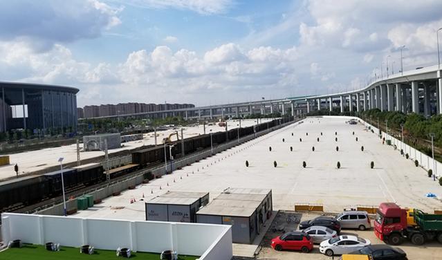 二层步廊、5号停车场相继竣工,虹桥商务区迎进口博览会各项重要配套项目正冲刺