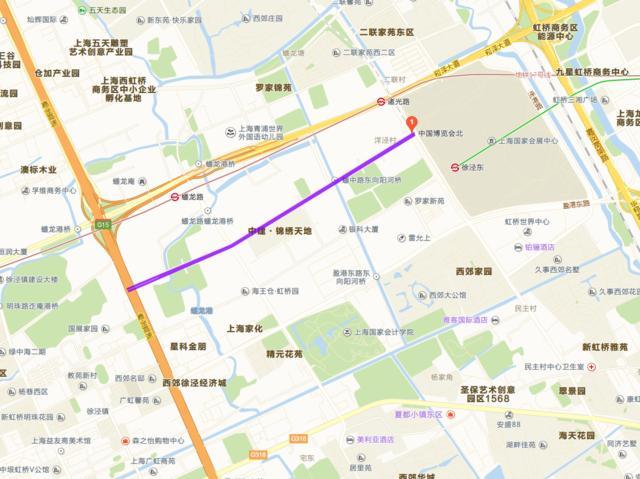 上海市西虹桥商务区北侧又有建设计划发出:建设办公和酒店