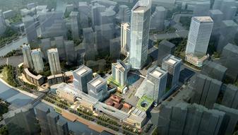 上海历史建筑复建,内有超高上海写字楼、超大绿地公园、百年历史遗存!