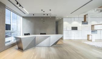 办公室设计如何设计前台?有什么要求?