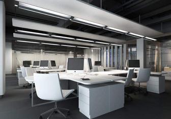 办公室装修如何正确的安装办公室隔断?