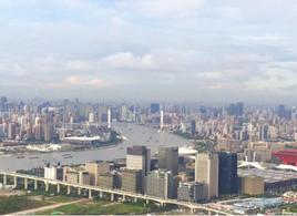 上海写字楼价格回落两成 外资并购重新活跃!