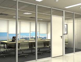 为什么办公室玻璃隔断深受大众喜欢?