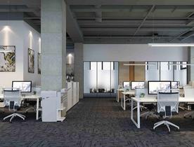 办公室装修设计天花吊顶四要素!